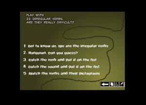Play with 22 irregular verbs: Gracias a este site, el alumnado trabaja los verbos irregulares a través de un conjunto de actividades en las que, por ejemplo, tiene que completar oraciones con el tiempo verbal adecuado o elegir la pronunciación correcta de los ejercicios que se le plantean.